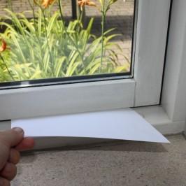 Sådan tjekker du nemt vinduets tætningslister